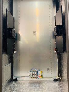 Греющие пластины в шкафу ТША124-80.160.50-У1