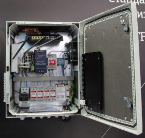 Термошкаф для видеонаблюдения с УЗИП