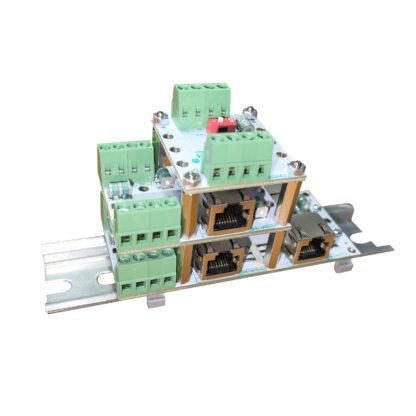 Модульное компоновка устройств ЗЛ