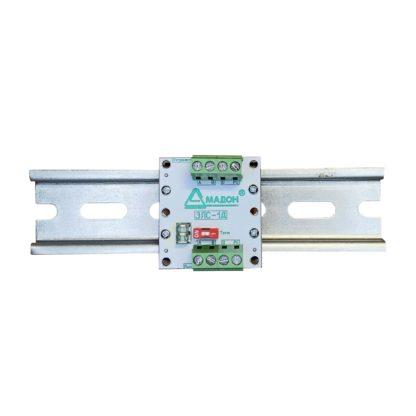 ЗЛС-1Д — Устройство защиты линии промышленной связи RS-485/RS422, 1 канал