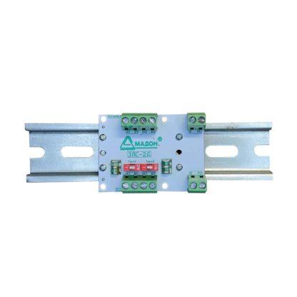 ЗЛС-2Д — Устройство защиты линии промышленной связи RS-485/RS422, 2 канала