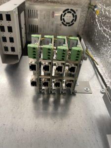 ЗЛС-2ЕП в шкафу для видеонаблюдения