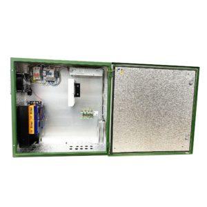 Шкаф для видеонаблюдения с устройством защиты линий ЗЛС-2ЕП