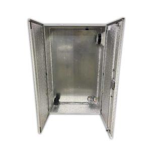 Термошкаф антивандальный с обогревом и вентиляцией