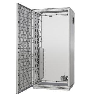 """Термошкаф пластиковый для 19 оборудования с обогревом и вентиляцией """"Амадон"""" ТША322"""