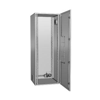"""Термошкаф для 19 оборудования с обогревом и вентиляцией """"Амадон"""" ТША322"""
